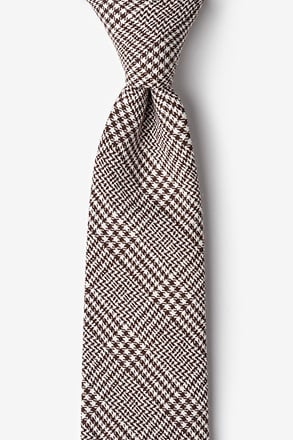 Cottonwood Brown Extra Long Tie