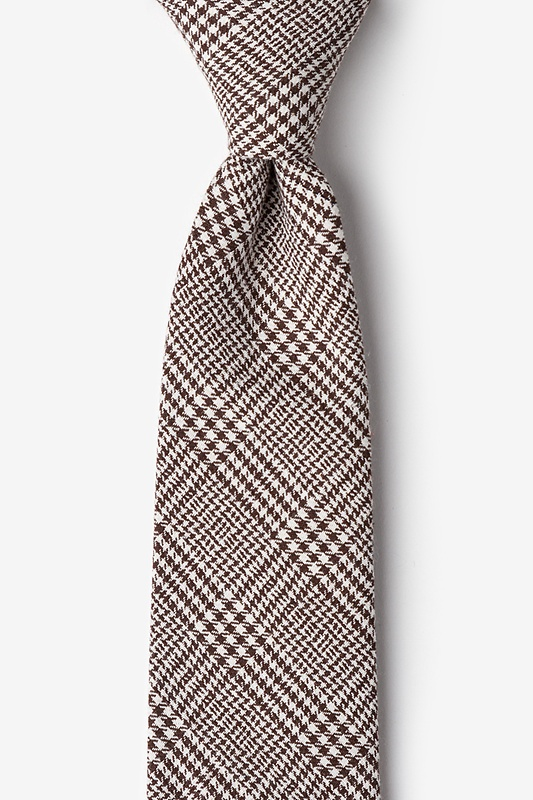 Cottonwood Brown Extra Long Tie Photo (0)