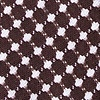 Brown Cotton Descanso Bow Tie