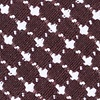 Brown Cotton Descanso Skinny Tie