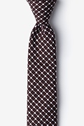 Descanso Brown Skinny Tie Photo (0)