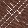 Brown Cotton Escondido Skinny Tie