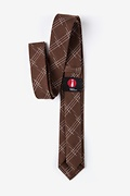 Escondido Brown Skinny Tie Photo (2)