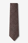 Glendale Brown Tie Photo (1)