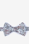 Brown Cotton Hale Self-Tie Bow Tie