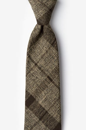Kirkland Brown Extra Long Tie