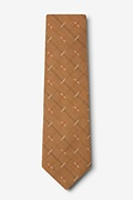 La Mesa Brown Extra Long Tie Photo (1)