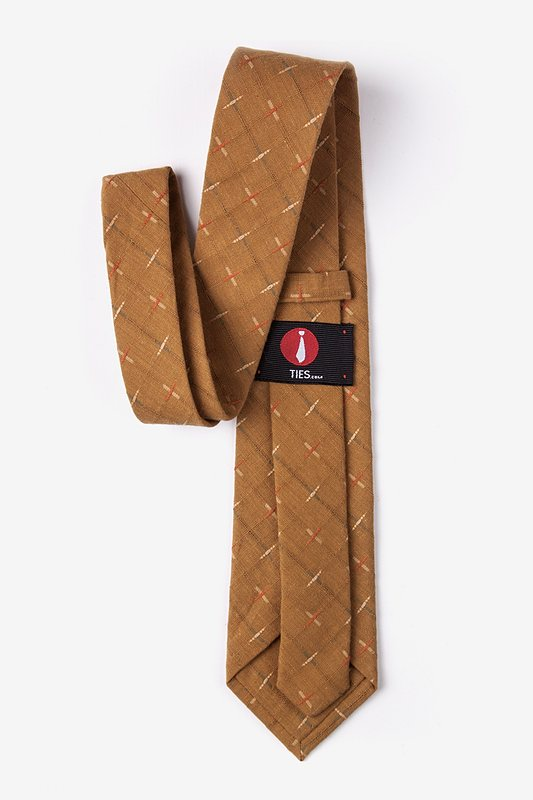 La Mesa Brown Extra Long Tie Photo (2)