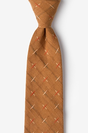 La Mesa Brown Extra Long Tie