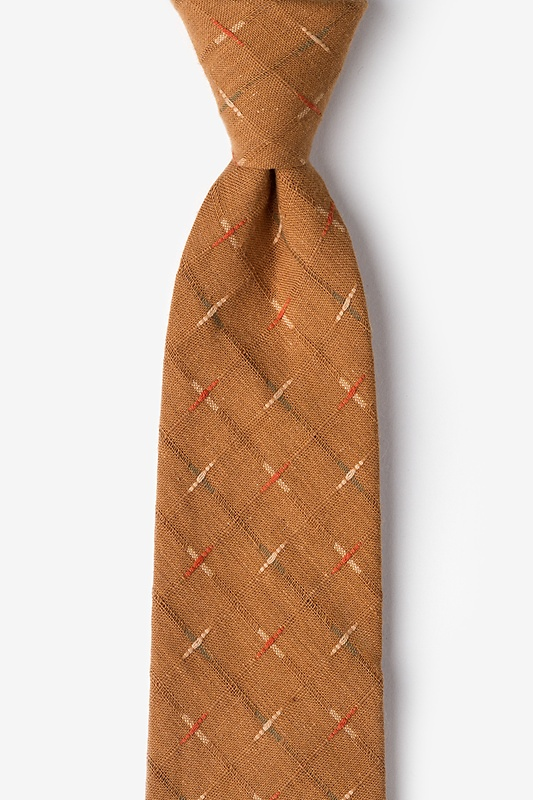 La Mesa Brown Extra Long Tie Photo (0)