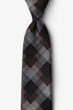 Richland Brown Extra Long Tie