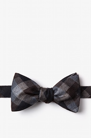 Richland Brown Self-Tie Bow Tie