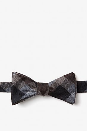 _Richland Brown Skinny Bow Tie_