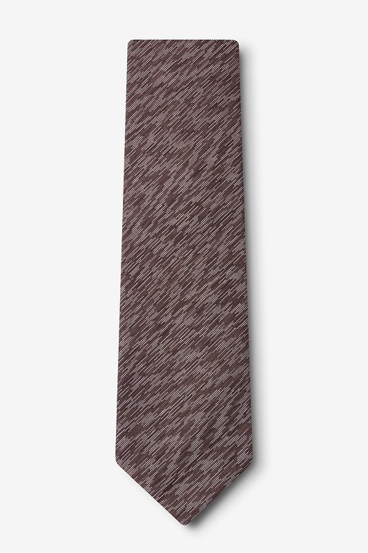 Springfield Brown Extra Long Tie Photo (1)