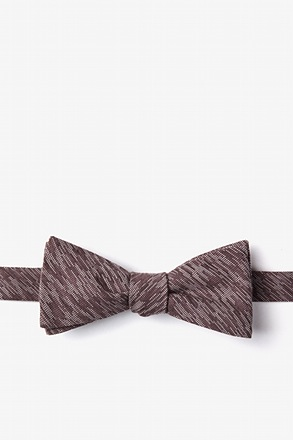 Springfield Brown Skinny Bow Tie