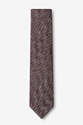 Springfield Brown Skinny Tie Photo (1)