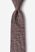 Brown Cotton Springfield Tie