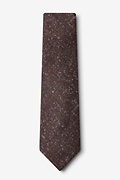 Wilsonville Brown Extra Long Tie