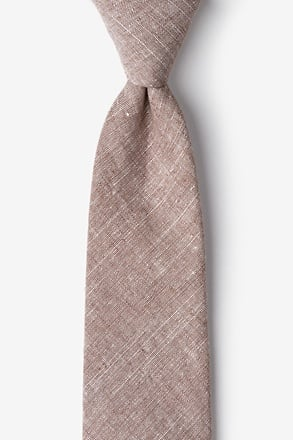 _Wortham Brown Tie_