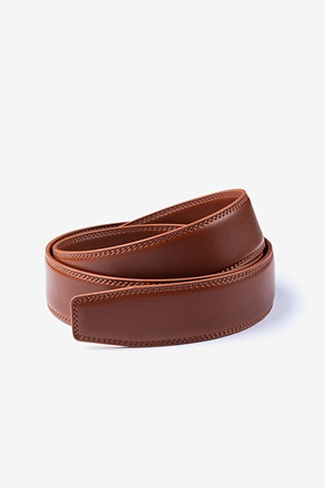 _Classic Premium Leather Brown Belt Strap_