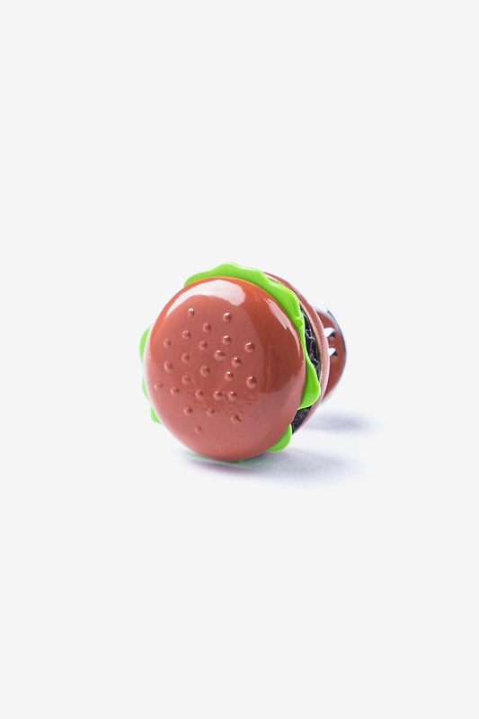 Hamburger Lapel Pin
