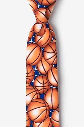 Basketballs Tie For Boys
