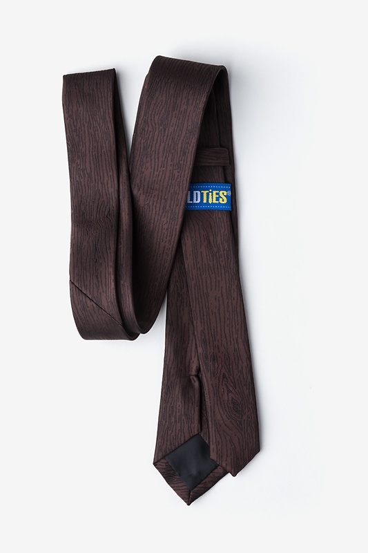 Wood Grain Skinny Tie Photo (1)