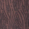 Brown Microfiber Wood Grain Tie