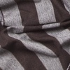 Brown Polyester Mens Caravan Stripe Scarf