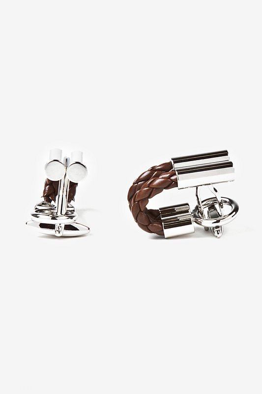 Braided Cufflinks