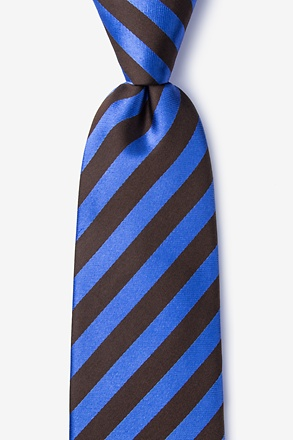 Bandon Brown Extra Long Tie