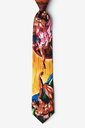 Creation of Adam - Michelangelo Tie