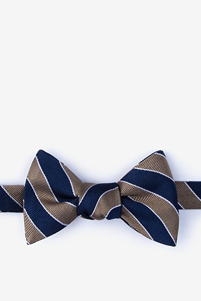 _Fane Brown Self-Tie Bow Tie_