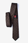 Griffin Brown Skinny Tie Photo (1)