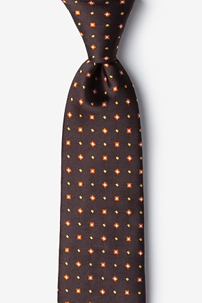Hoste Brown Extra Long Tie