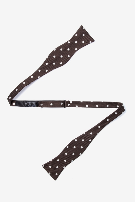 Polka Dot Butterfly Bow Tie