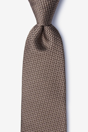 Quartz Brown Tie