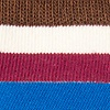 Burgundy Carded Cotton Lakewood Sock