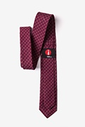 Ashland Burgundy Skinny Tie Photo (2)