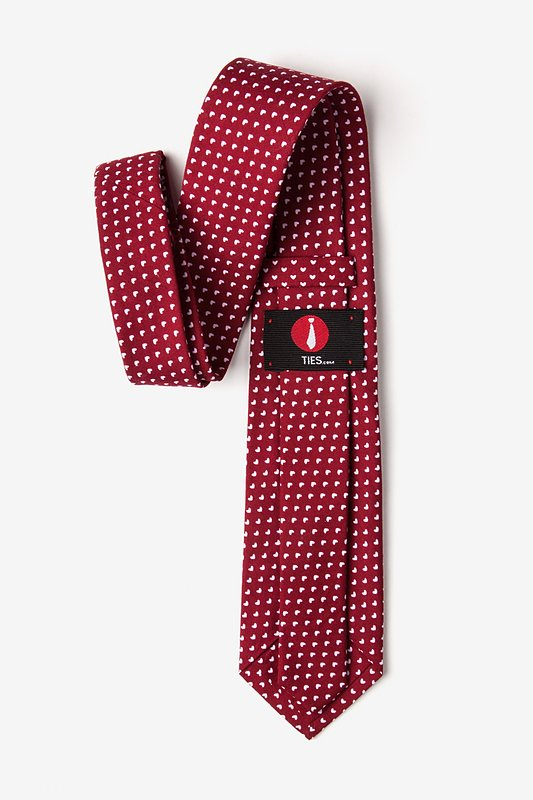 Bandon Burgundy Tie Photo (2)