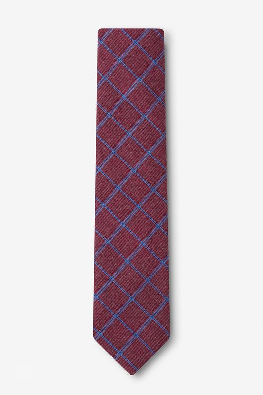 Bisbee Burgundy Skinny Tie Photo (1)
