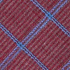 Burgundy Cotton Bisbee Tie