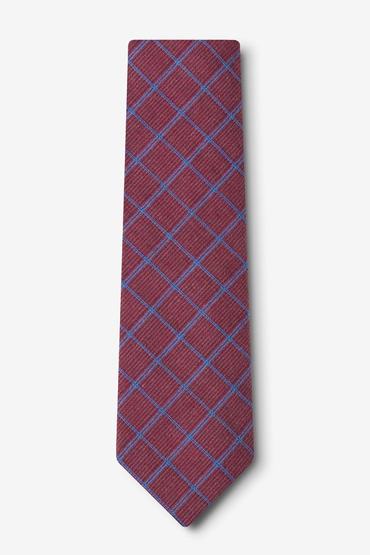 Bisbee Burgundy Tie Photo (1)