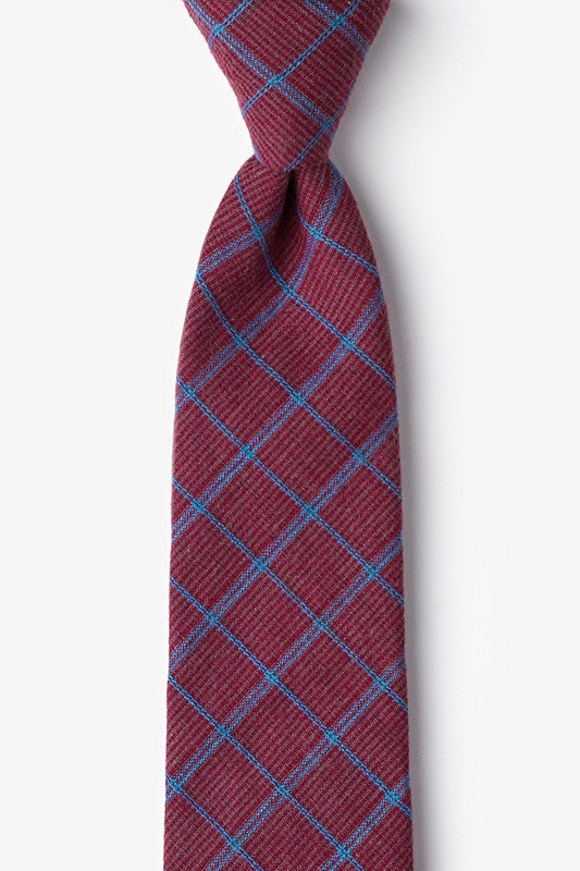 Bisbee Burgundy Tie Photo (0)
