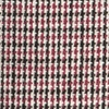 Burgundy Cotton Burgundy Andrew Plaid Pocket Square