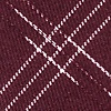 Burgundy Cotton Escondido Skinny Tie