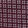 Burgundy Cotton Fayette Tie