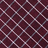 Burgundy Cotton Holbrook Extra Long Tie