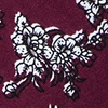 Burgundy Cotton Jubilee Extra Long Tie