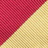 Burgundy Microfiber Burgundy & Gold Stripe Butterfly Bow Tie